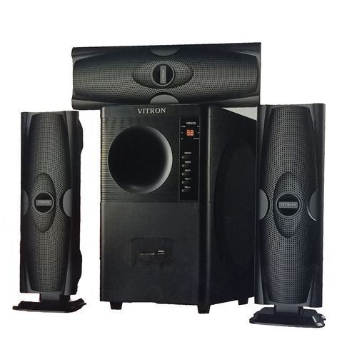 Vitron V635 3.1 HOME THEATER BUILT IN POWERFUL AMPLIFIER, SUB-WOOFER SYSTEM 3.1 CH 10000W - BLACK