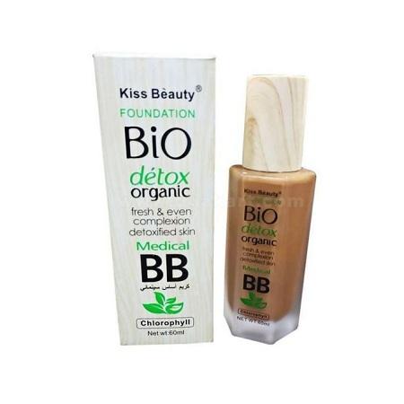 Kiss Beauty Bio Detox Organic Foundation - 60ml