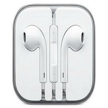 Generic Earphones For iPhone 6 / 6S / 6 Plus - White.
