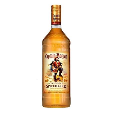 Captain Morgan Spiced Gold Rum - 1Litre