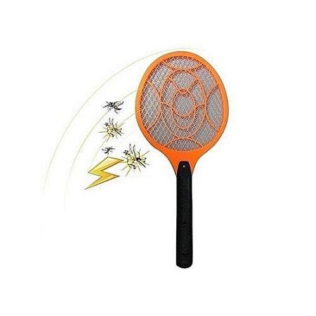 Rechargeable Mosquito Killer Bat / swatter Orange/Black