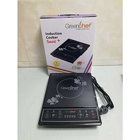 Single Plate induction Cooker Black