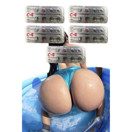 50 Pills C4 Butt Boosters For Big Smooth Butt and Hips