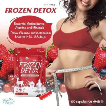 Detox 2 In 1 Frozen Detox Flat Tummy/Slimming/Weight Loss Capsules