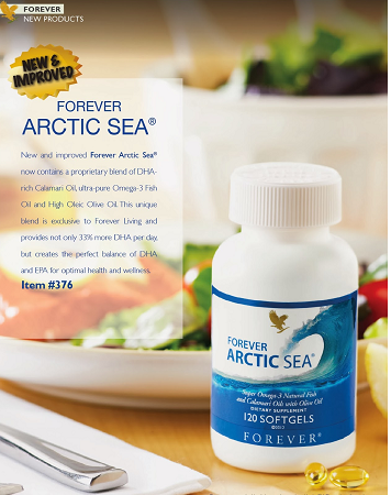 Forever Living Arctic Sea Omega 3 supplements