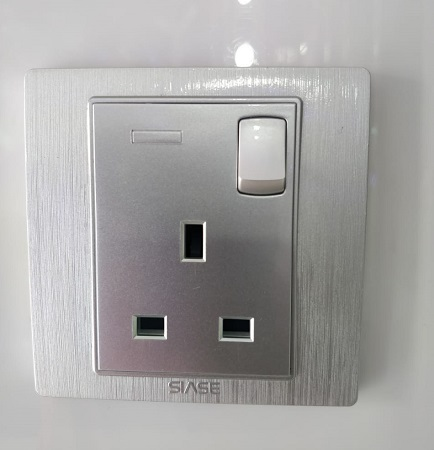 Siase Single Socket- Silver