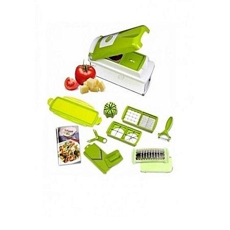 Nicer & Dicer - Multicolored Multi-function Vegetable Chopper,Cutter,Grater,