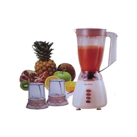 3 in 1 Blender with Grinder - 1.5 Litres - Classic Cream Cream 3in1