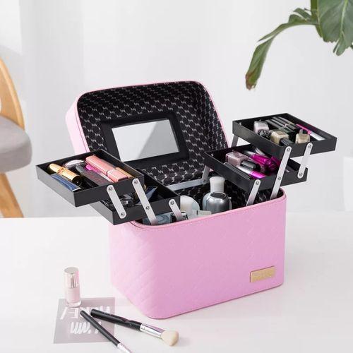 Make UP box- baby pink