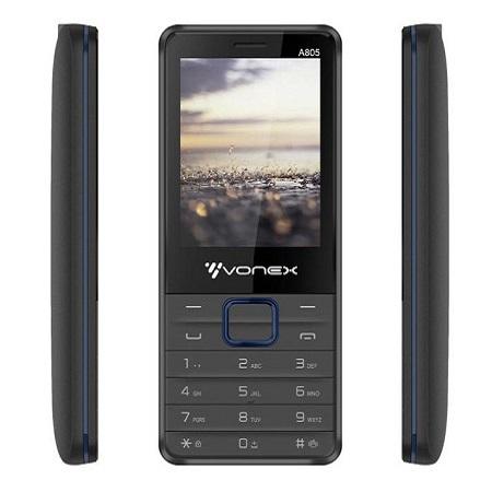 Vonex A2162, Wireless FM Radio, Clear Camera ,Dual sim, Torch,Big battery with facebook