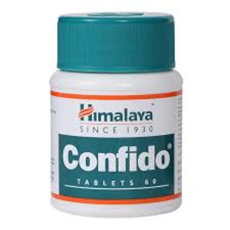 Himalaya Confido Tablets, 60 Capsules Green pills
