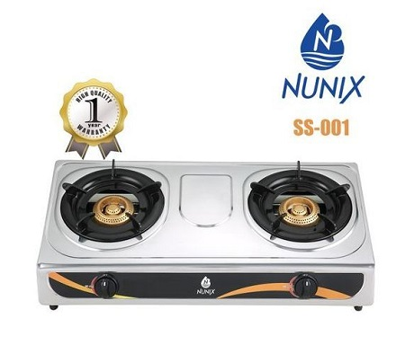 Nunix Stainless Steel Table Top Gas Cooker