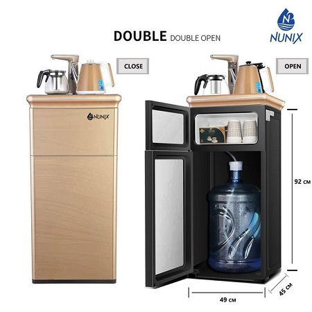 Nunix Bottom Load Hot and Normal Remote Controlled Water Dispenser