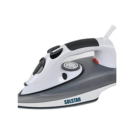 SOLSTAR IS2200NGYBSS: Steam Iron Box - 2200w - Grey