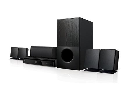LG LHD627 Home Theatre - 5.1 Channel, 1000W, Satellite, Bluetooth