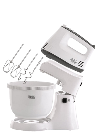 Black & Decker M700-B5 300W Bowl and Stand Mixer