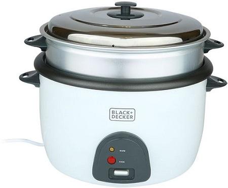 Black & Decker 4.5 Liter Metal Rice Cooker - RC4500-B5