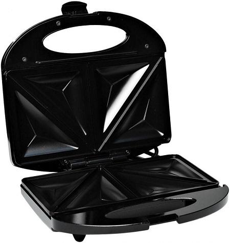 Black & Decker TS1000-B5 2 Slice Sandwich Maker, 600W - Black