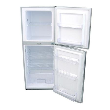 Bruhm BRD230, Double Door Refrigerator, 7.5Cu.Ft, 200 Litres - Silver