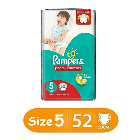 Pampers Baby Dry Diapers, Size 5, Jumbo Pack (Count 60)
