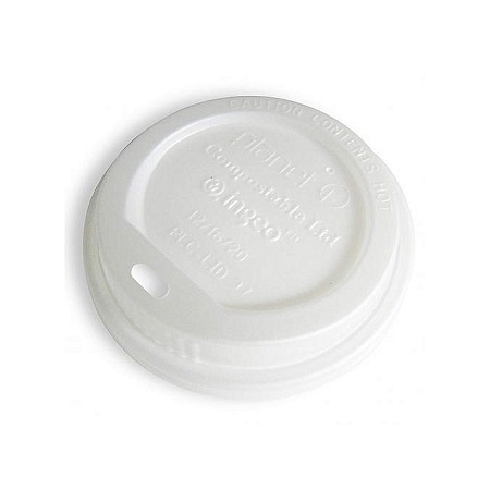 Lids for Paper Cups, 8oz, Pack of 50 pcs