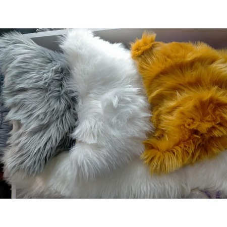 Faux Fur Decorative Throw Pillow Covers