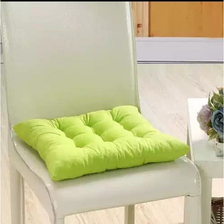 Green Tufted Seat Pad