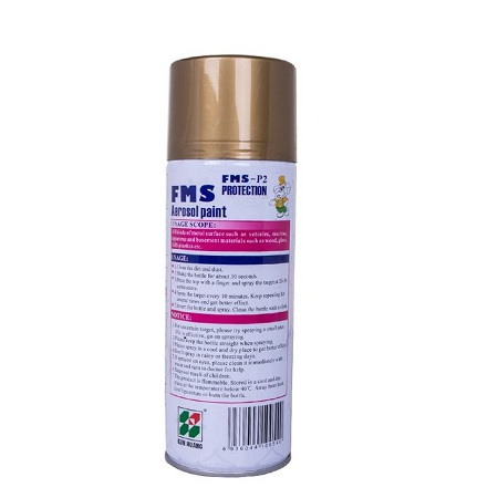 Generic FMS Aerosol Paint Spray Gold