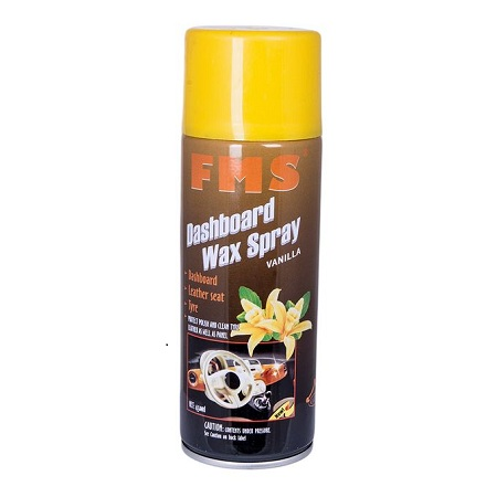 Fms Dashboard Wax Spray Vanilla 450 Ml