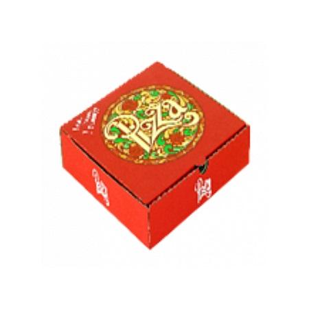Pizza Box Designed Medium 28 x 28 x 4.5 CM, 10 pcs