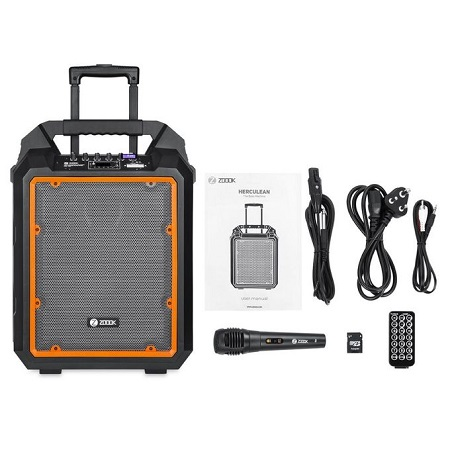 ZOOOK ZB-Herculean - Portable Bluetooth Trolley Speaker - 200W