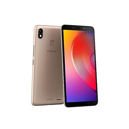Infinix Smart 2 HD Smartphone X609, 6 Inch, 16GB + 1GB (Dual SIM), Gold