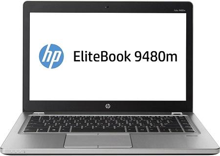 HP Refubrished Folio Elitebook 9480m: 14 inches, 4GB RAM, 500 HDD, Core i5