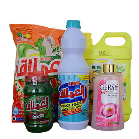 5 Pack All Household Cleaning Products Christmas Offer- Bleach 1L, Handwash 550ml, Dishwasher 1800ml, Detergent 1Kg And Surfaces Supergel 500gms.