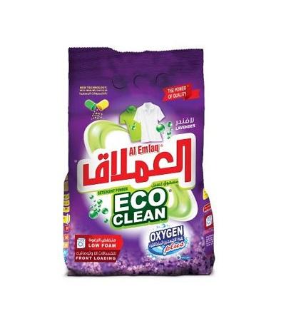 Al Emlaq Eco Clean Low Foaming Powder Detergent Lavender- 5 KG Bag