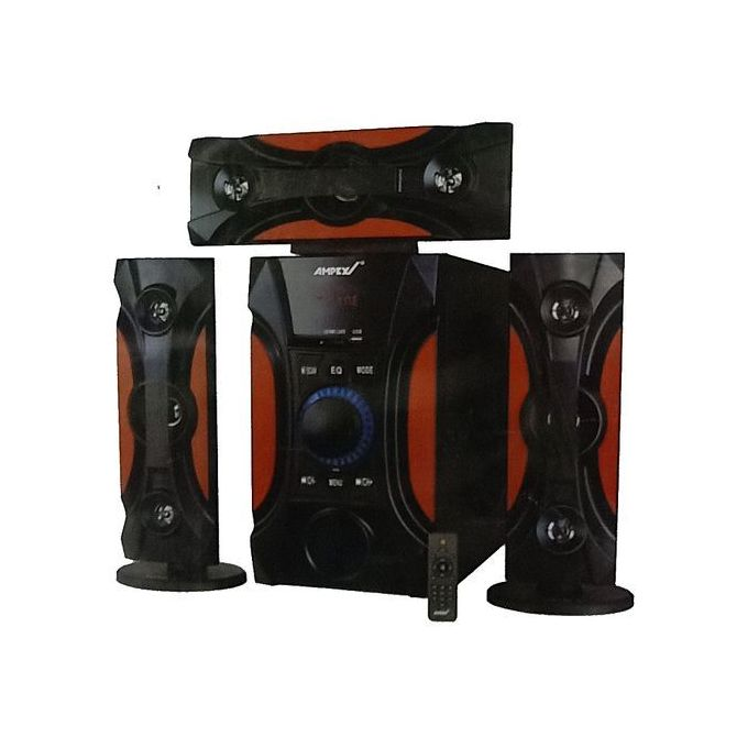 SHARE THIS PRODUCT   Ampex A18-3.1Ch Woofer-12000W PMPO-Bluetooth/USB/SD/FM