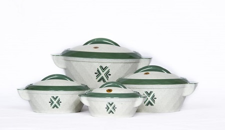 Rashnik Solitare RN-219 High Quality Insulated HotPot- 4 Pieces
