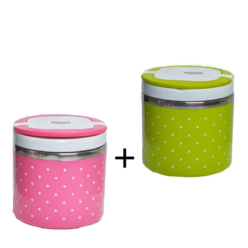 Buy Rashnik RN-1405 Single Layer Lunch Box and Get 1 Free- Random Color