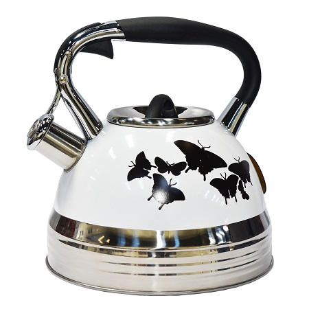Edenberg EB-1942 3 Litres High Quality Whistling Kettle, Induction Friendly and Energy Saving- Butterfly
