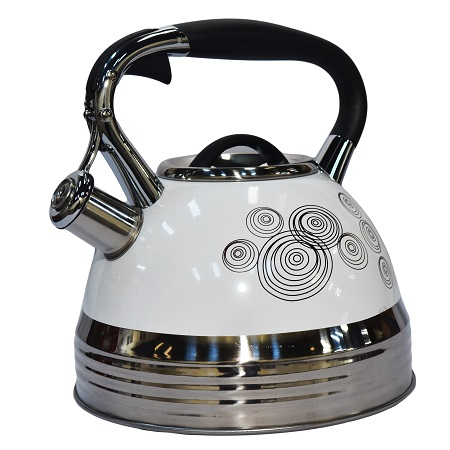Edenberg EB-1942 3 Litres High Quality Whistling Kettle, Induction Friendly and Energy Saving- Spiral