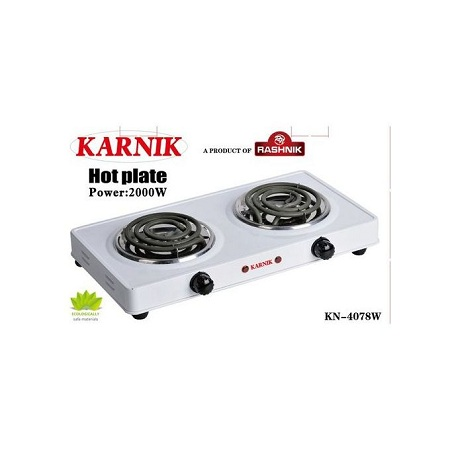 Rashnik Modern Double Spiral Electric Hotplate -Cooker/burner