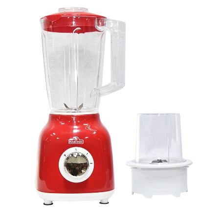 Rashnik RN-1006 Blender & Grinder 1.5 Litres, 350W - Red