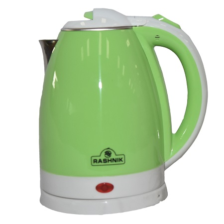 Rashnik RN-1141 Cordless Electric Kettle- Green