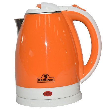 Rashnik RN-1141 Cordless Electric Kettle- Orange