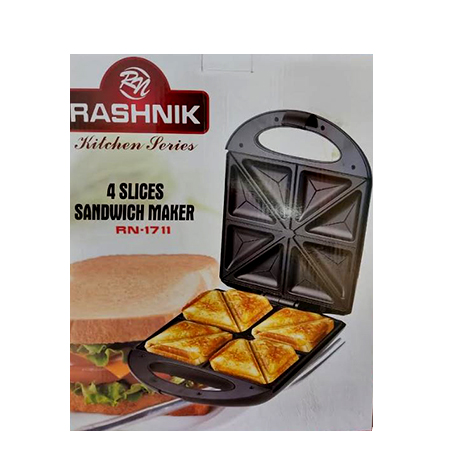 Rashnik RN-1711 4 Slices Sandwich Maker