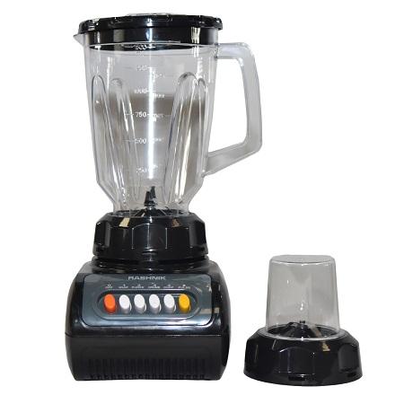 Rashnik RN-999 Blender & Grinder 1.5 Litres, 350W - Black
