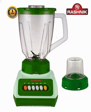 Rashnik RN-999 Blender & Grinder 1.5 Litres, 350W - Green