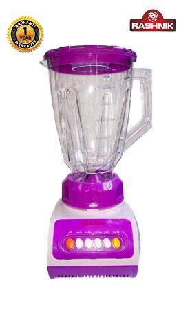 Rashnik RN-999 Blender & Grinder 1.5 Litres, 350W - Purple
