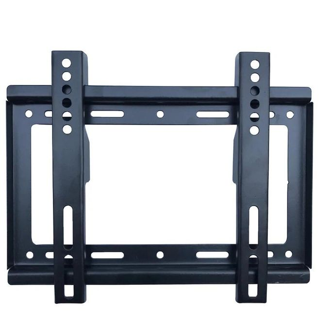14 inches - 42 inches TV Flat Panel Wall Bracket Holder Black- Tv Wall Bracket