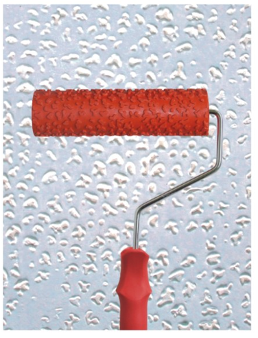 Red Textured Rollers - 7 inches (901)